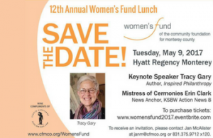 women's fund save the date - May 9, 2017