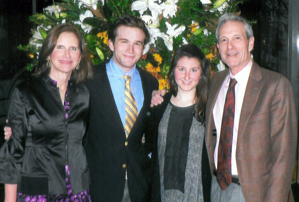 David and Laurie Benjamin with their children