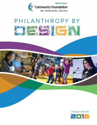 Philanthropy by Design – Annual Report