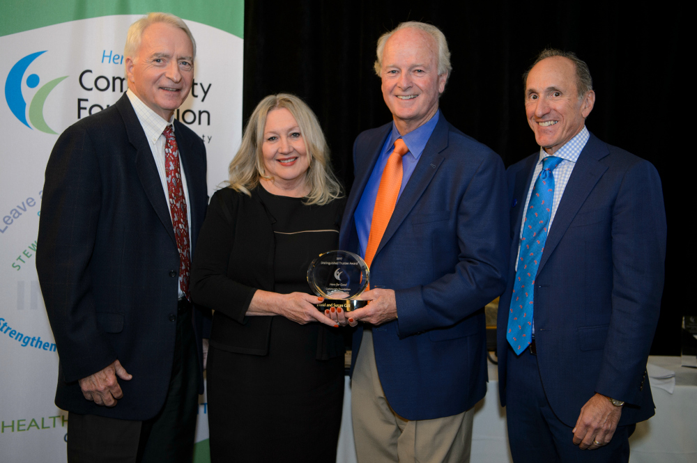Susan and David Gill Receive Award