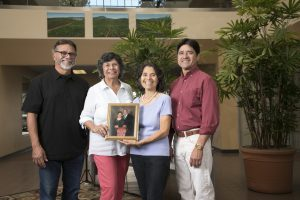 Gomez Family with Photo