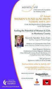 Women's Fund Lunch Invite