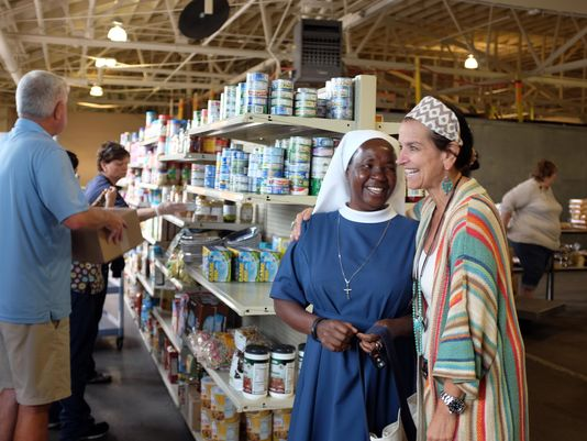 Giving Together: The Food Bank Fire