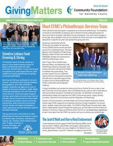 CFMC Spring 2018 News