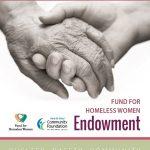 Fund for Homeless Women Endowment Brochure