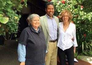Kathy Whilden, Michael Reid, Marian Penn