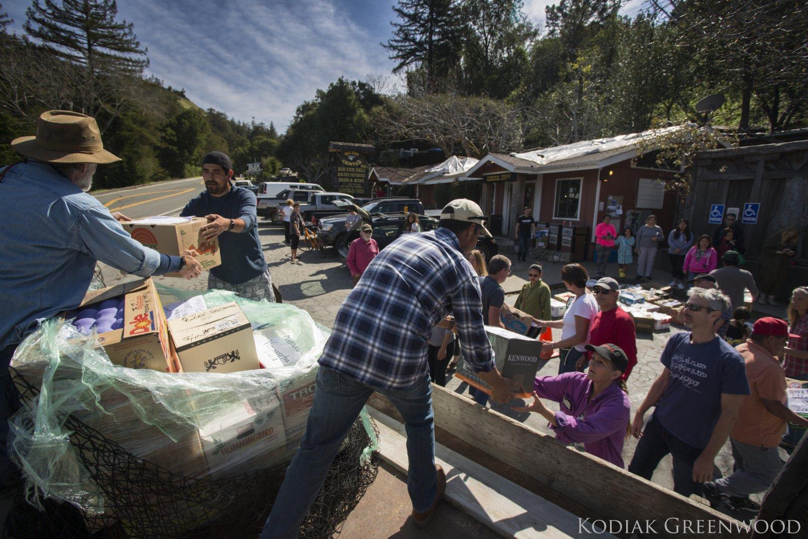 Big Sur Relief Fund Grants