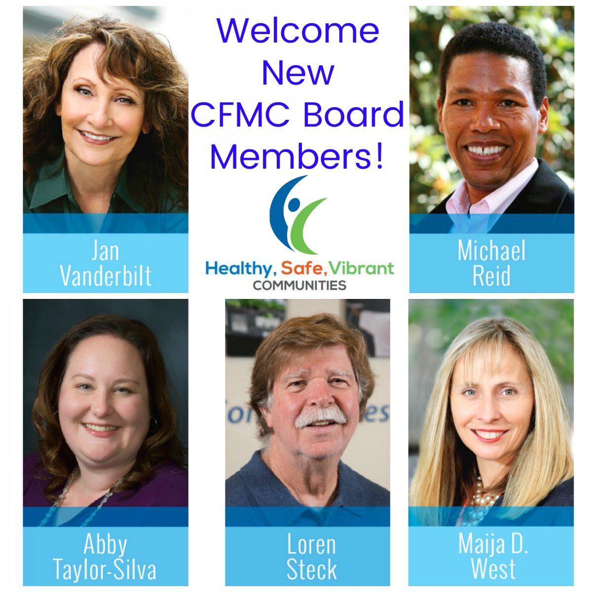 CFMC Welcomes New Board Members - The Community Foundation ...
