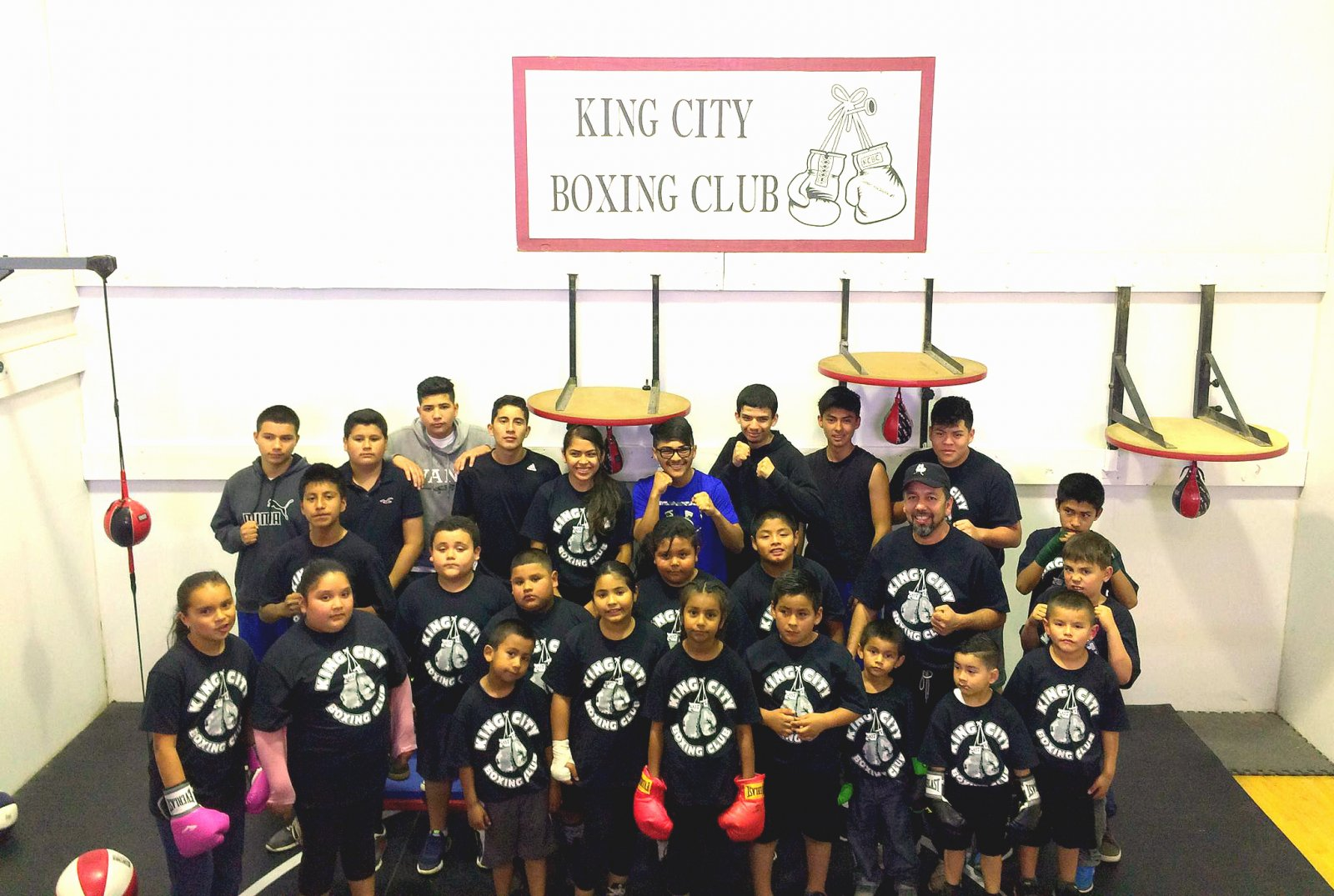 King City Boxing Club- SMCF grantee
