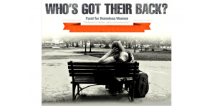 Homeless Who Has Their Back?