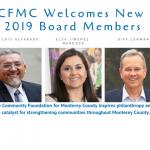 CFMC Welcomes New Board Members