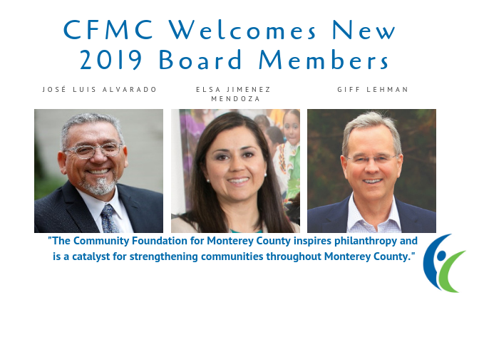 CFMC Welcomes New Board Members
