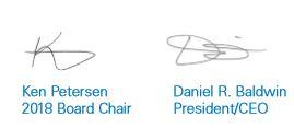 Ken Petersen Dan Baldwin Signatures