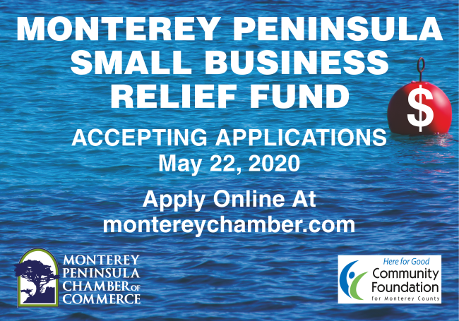 Monterey Peninsula Chamber of Commerce Launches Small Business Relief Fund at the CFMC