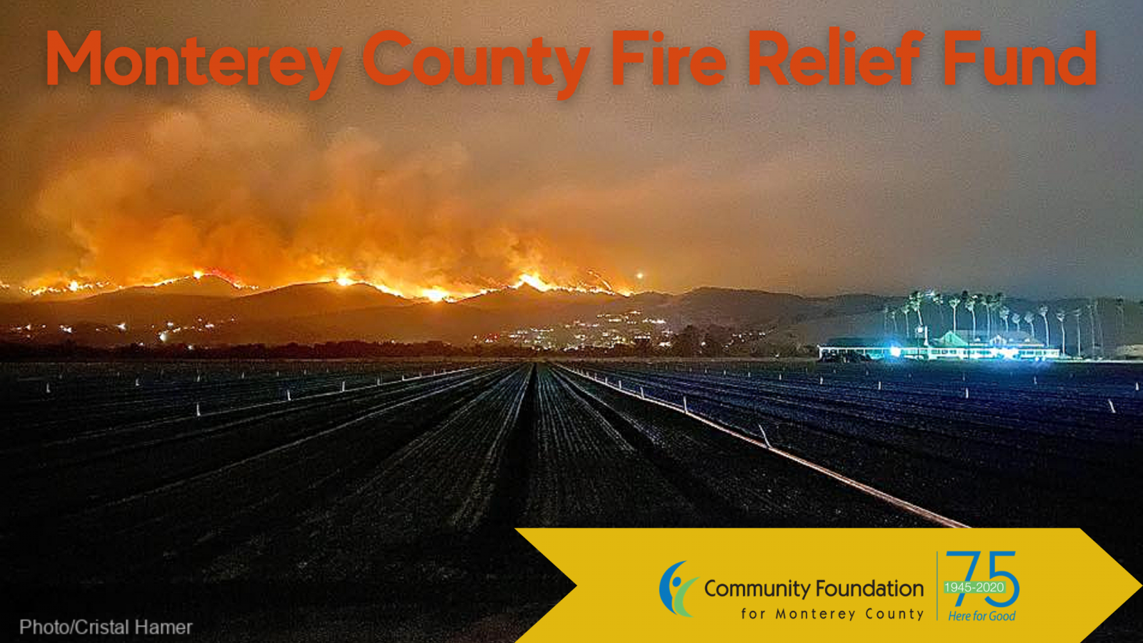 Monterey County Fire Relief Fund Created